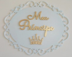 Placa Decorativa Mdf Pintado 3 mm