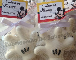 Sabonete Luva Mickey/Minnie