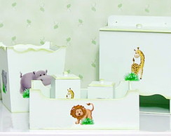 kit higiene de mdf safari