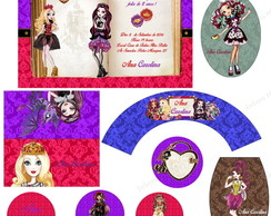 Kit Festa Digital Ever After High