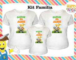 Kit Camisetas Safari