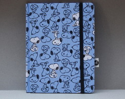 Capa Kindle/ Kobo/ Lev - Snoppy Azul