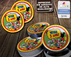 Latinha Personalizada - Casa do Mickey