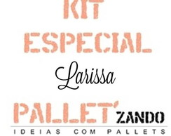 kit especial andrea - plaquinha hang