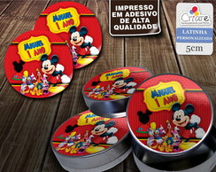 Latinha - Casa do Mickey (modelo 2)