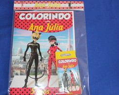 Revista Para Colorir KIT MIRACULOUS