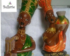 Busto africanas
