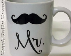 Caneca personalizada Mr. & Mrs.
