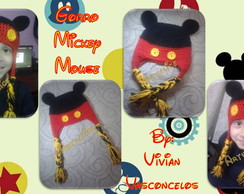Touca/Gorro Michey Mouse Crochê