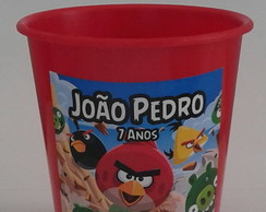 Balde Pipoca 1l Angry Birds