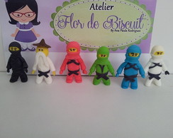 Personagens de biscuit Ninjago Lego