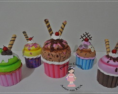 Cup cakes decorativos