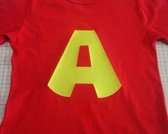 Camiseta Alvin Bordada