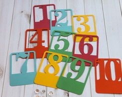Tags Funny Numbers (A110)