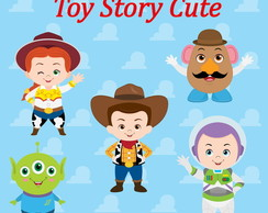 Aplique / Recortes - Toy story cute