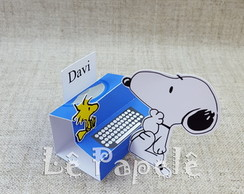 Porta chocolate Triplo Snoopy