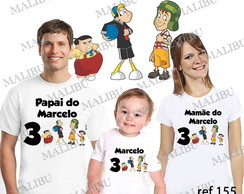 Camiseta Turma do Chaves Personalizada