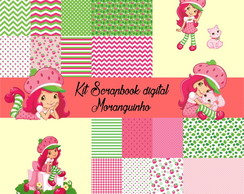 Kit Scrapbook digital Moranguinho