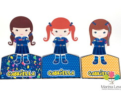Display para 2 Chocolate - Chiquititas