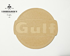 Placa decorativa Gulf MDF cru