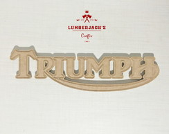 Placa decorativa Triumph MDF cru