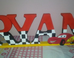 Letras decoradas mdf