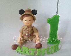 VELA MENINO MICKEY SAFARI
