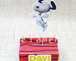 Porta chocolate duplo Snoopy