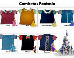 Camiseta Fantasia Adulta