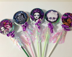 Pirulito Personalizado - Monster High