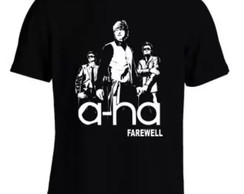 Camisa A-ha Farewell Tour