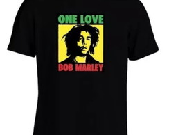 Camisa Bob Marley One Love