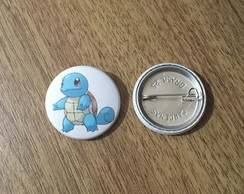 Botton Pokemon Squirtle - 2,5cm