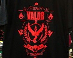 Camiseta Pokemon Go Team Valor