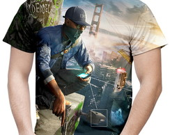 Camiseta Masculina Watch Dogs MD02