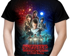 Camiseta Masculina série Stranger Things