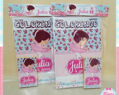 Kit colorir Bailarina