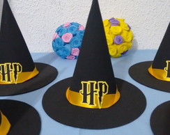 Chapeu Harry Potter centro de mesa