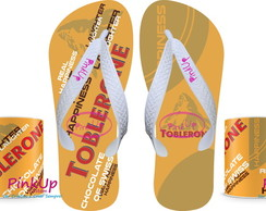 kit Caneca + Chinelo Toblerone