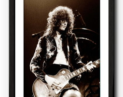 Quadro Jimmy Page - Led Zepelin