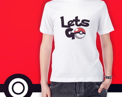 Camiseta Pokemon Lets Go