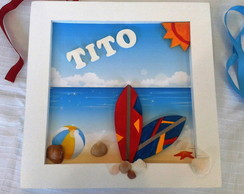 Quadro Decorativo Infantil SURF