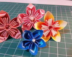 Flor Origami simples