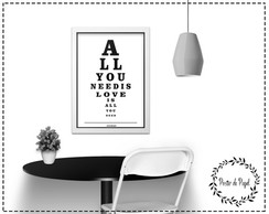 Poster All You Need - A3