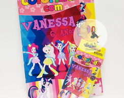 Kit Para Colorir Equestria Girls