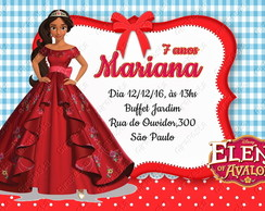 convite digital princesa elena of avalor