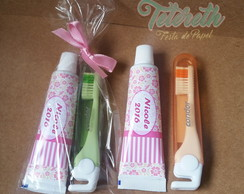 Kit Escova e Creme Dental