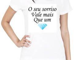 Camiseta Feminina Diamante