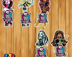 Aplique Tubete Monster High