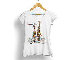 Camiseta Branca Tropicalli 5105